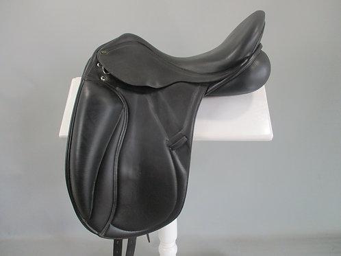 "PDS Grande Mono Flap Dressage Saddle 17.5"""
