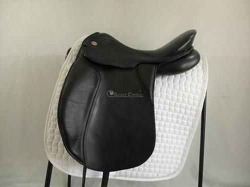 "Kieffer Innsbruck Dressage Saddle 17.5"" (size 2) MW"