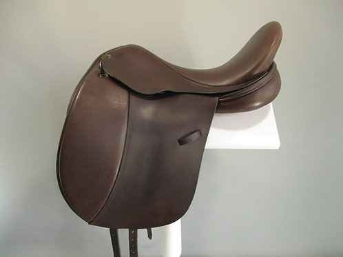 "Frank Baines Elegance Dressage Saddle 18"" XXW"