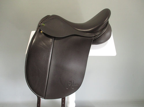 "Ideal Rebecca Dressage Saddle 17"" W  BROWN"