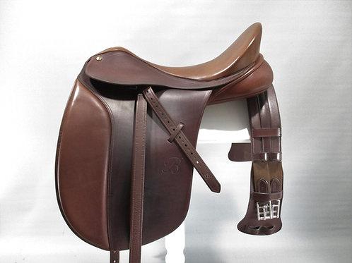 "Bates Caprilli Dressage Saddle 18"" PLUS EXTRAS"