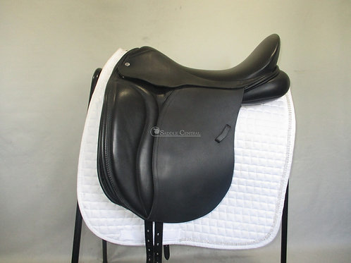 """Loxley by Bliss Dressage Saddle 18""""  With Short Flaps"""