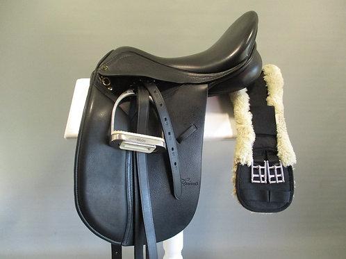 "Trainers Masters Dressage Saddle 16.5"""