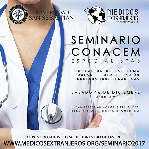 Seminario Conacem 2017 Asociacion Chilena de Medicos Extranjeros