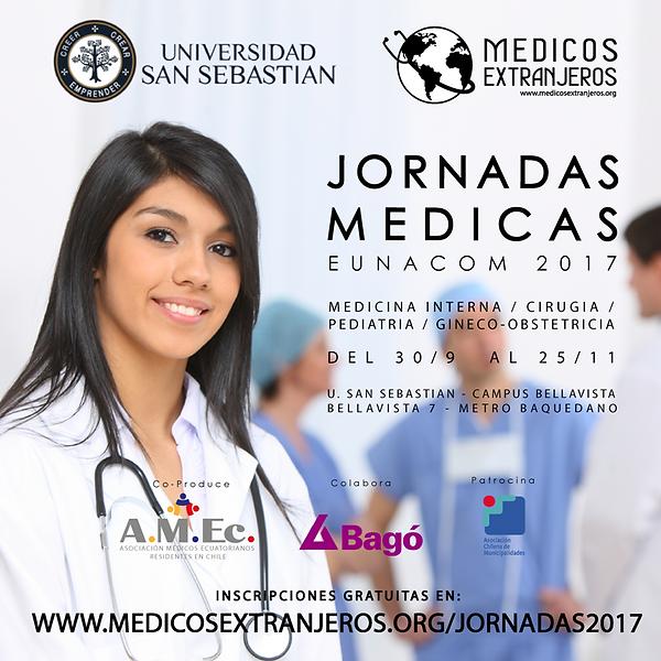 Jornadas Medicas 2017 Asociacion Chilena de Medicos Extranjeros