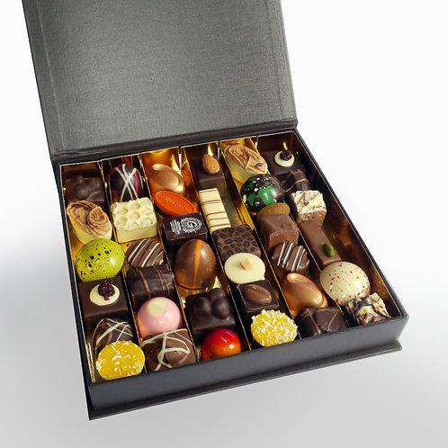 Bonbons in Luxe doos met klapdeksel - 36 stuks
