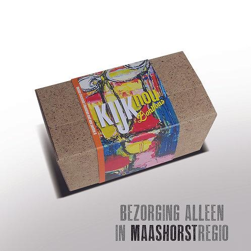 Bonbons in doosje met kunstwikkel - 375gr  - ± 23st