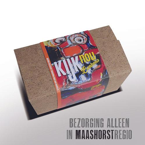 Bonbons in doosje met kunstwikkel - 500gr  - ± 30st