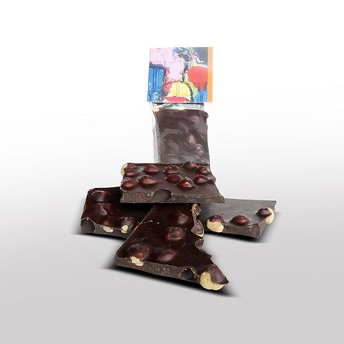Breekchocolade Hazelnoot Puur - 120gr