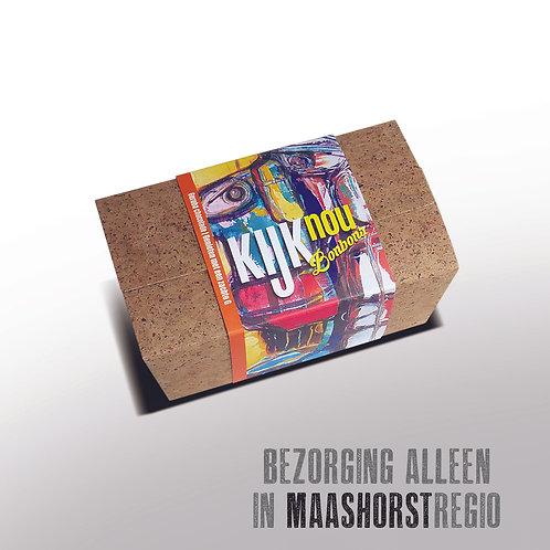 Bonbons in doosje met kunstwikkel - 250gr  - ± 16st