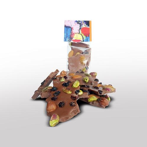 Breekchocolade Studentenhaver Melk - 120gr