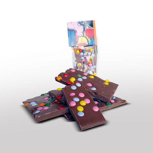 Breekchocolade Smarties Melk - 120gr