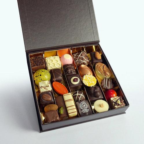 Bonbons in Luxe doos met klapdeksel - 25 stuks