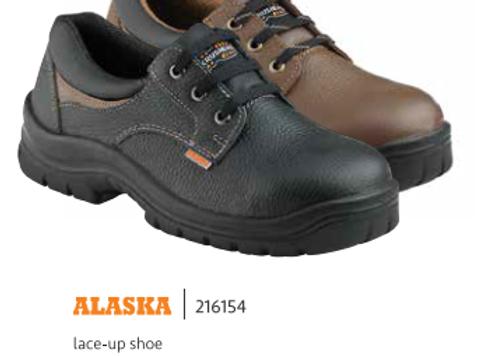 KRUSHERS ALASKA BLACK LACE-UP SHOE