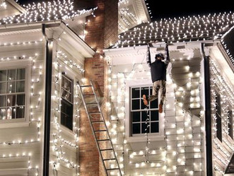 Get Lit! Safety Tips for Christmas Light Installation
