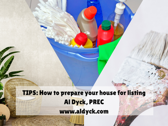 TIPS:  How to prepare your house for listing