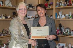 Niamh O Siochru with Jean O'Kelly