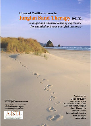Advanced Course in Jungian Sand Therapy brochure