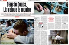 Commande pour le quotidien Libération