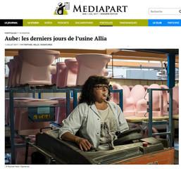 Portfolio dans Mediapart