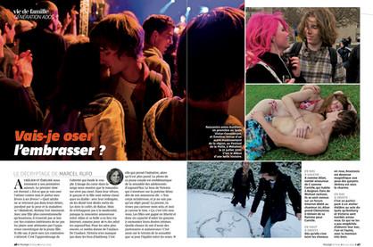 Porfolio de 13 pages dans le magazine Pelerin