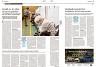Commande pour le Monde print et web