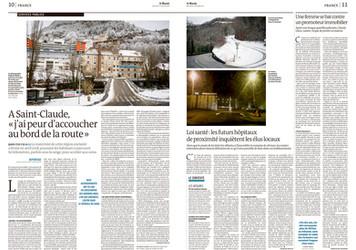 Commande pour le quotidien Le Monde, print et web