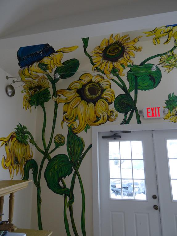 Exit through the sunflower fields