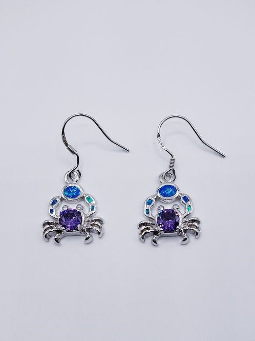 Crab Earrings