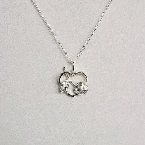 Heart/Rose Charm