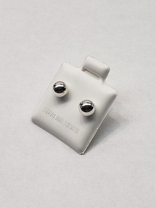 Ball Post Earrings - 6mm