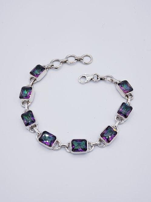 Mystic Fire Topaz Bracelet