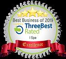 i Spa Sinapore award, Three Best Rated Massage 2019 2020