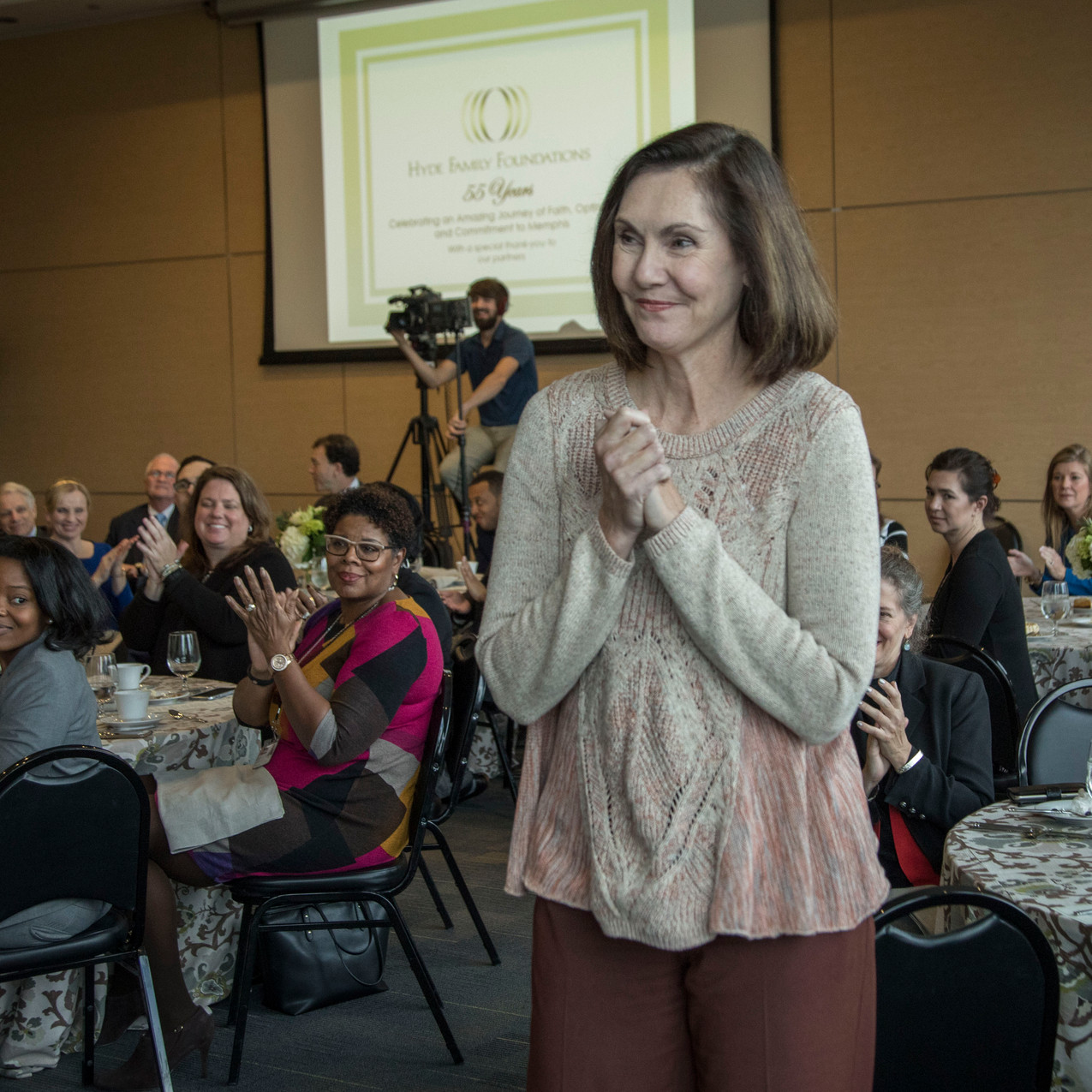 Amy recognized by Hyde Foundation