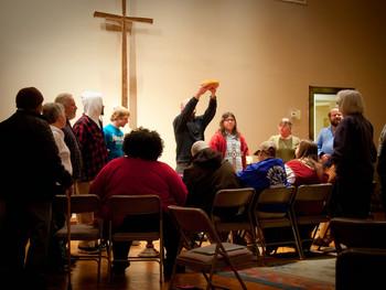 We Come: A creative expression of Binghampton United Methodist Church, An original poem by Kory N. T