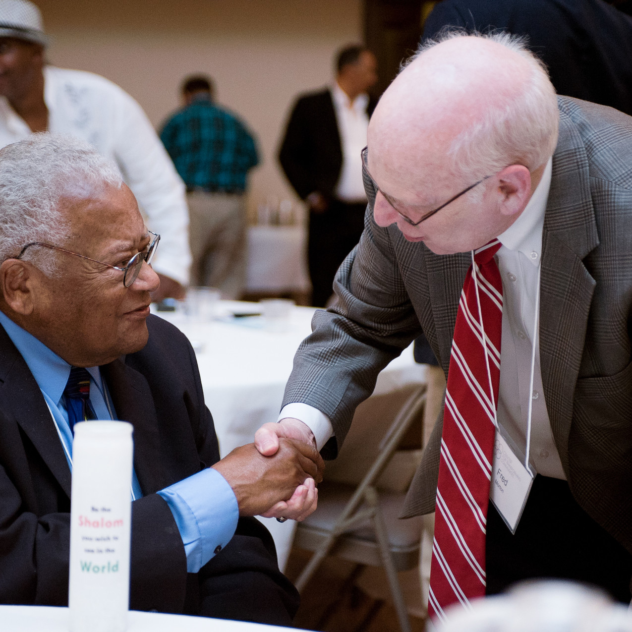 Fred Morton and James Lawson