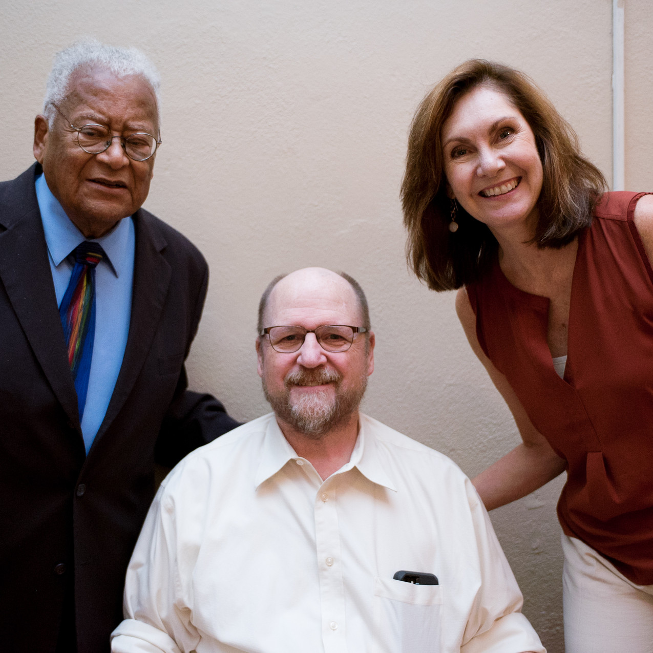 James Lawson, Jeff Irwin, and Amy