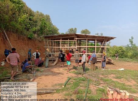 Komsen Village Quarantine Centre - Chandel District