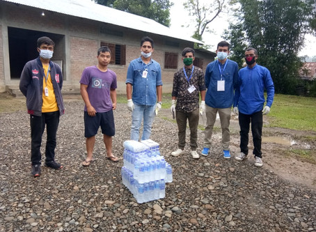 The Efforts of AMGSU to Help Those in Need During Covid-19