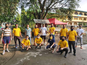 Community Participation at Singjamei Community Quarantine Centre, Manipur College, Imphal West