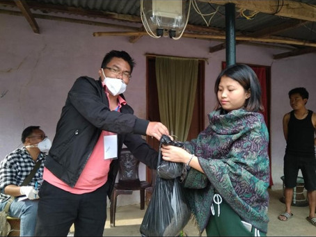 My Experience in Covid-19 Duty as a Volunteer - Tamenglong