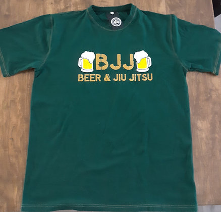 BJJ - Beer and Jiu Jitsu Tee