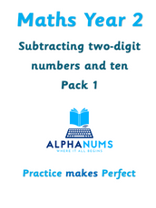 Subtracting two digit numbers and ten-Year 2