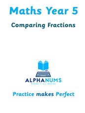 Comparing fractions-Year 5