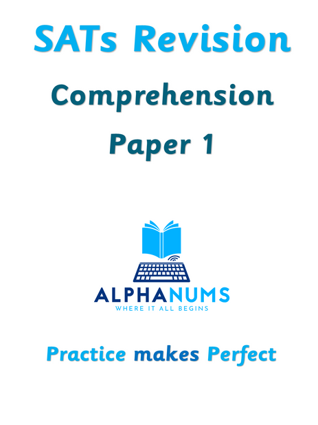 SATs Revision Comprehension Paper 1