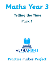 Telling the Time Pack 1-Year 3