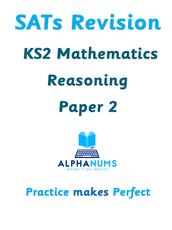 SATs Revision KS2 Maths Reasoning Paper 2