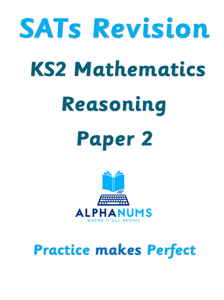 SATs Revision KS2 Maths Reasoning Paper 2