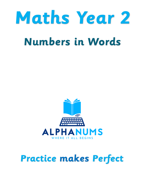 Numbers in words-Year 2