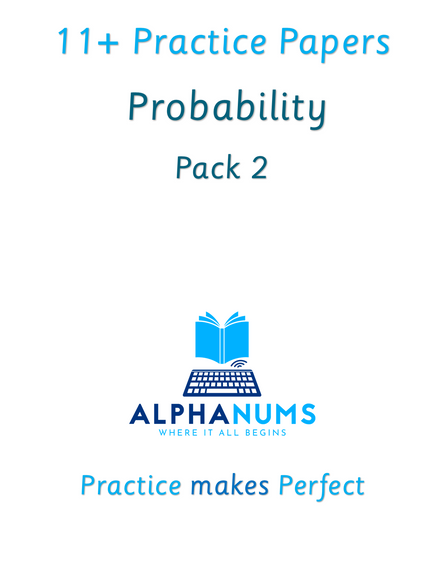 11+  Probability revision Pack 2